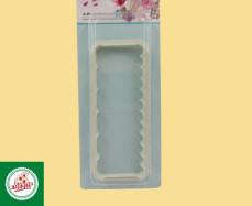 Régua ondulada para pasta americana Ref.CD383