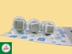 Kit Ejetores Quadrados (03 unidades) Ref.CD26