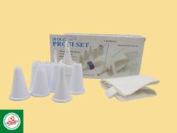 Kit Confeitaria (01 saco e 08 bicos) Ref.CD2175