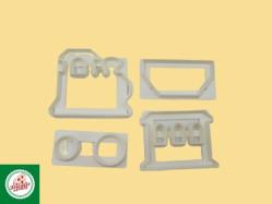 Kit Cortador de Trem (04 unidades) Ref.CD2456