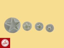 Kit Ejetores de estrela (04 unidades) Ref.CD21-4
