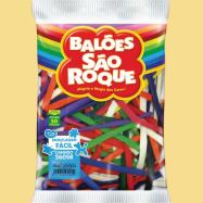 Balões São Roque Lisos  - Palito