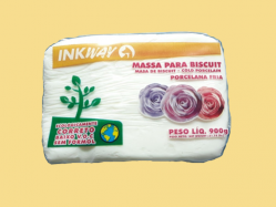 Massa para Biscuit Branca e Natural (Inkway - 900g)