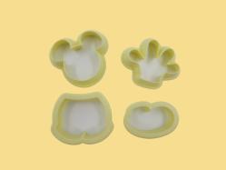 Kit Cortadores de Mickey (04 unidades)