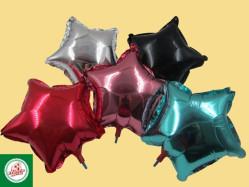 Balões Metalizados Estrela (10 Polegadas) Ref.BC2525