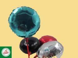 Balões Metalizados Redondo (10 polegadas) Ref.BC2525