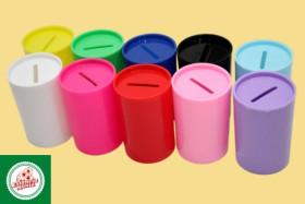 Cofrinho de Plástico, de Tamanho Pequeno Ref.CA1760