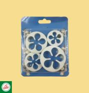 Kit Cortadores Flores (04 unidades) Ref.CD510