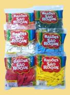 Balões São Roque Lisos - 5 polegadas