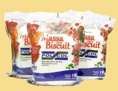 Massa de Biscuit Branca (Polycol - 1kl)